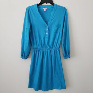Lilly Pulitzer Blue Dress Size Small